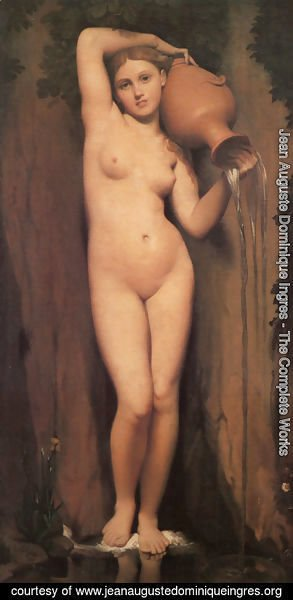 Jean Auguste Dominique Ingres - La Source (The Source)