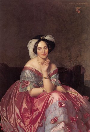 Jean Auguste Dominique Ingres - Baronne James de Rothschild, née Betty von Rothschild