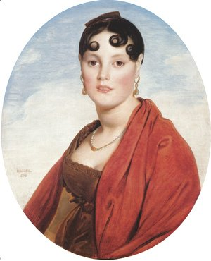 Jean Auguste Dominique Ingres - Madame Aymon, known as La Belle Zélie