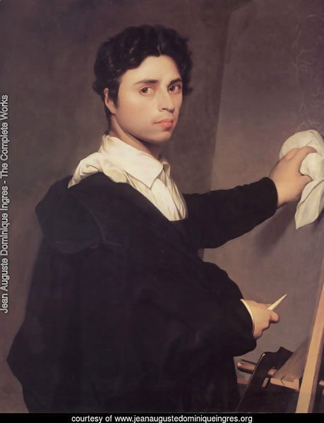 Copy after Ingres's 1804 Self-Portrait