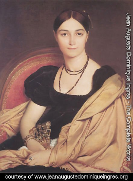 Jean Auguste Dominique Ingres - Madame Duvaucey