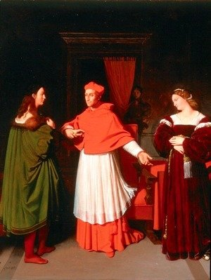 The Betrothal of Raphael and the Niece of Cardinal Bibbiena