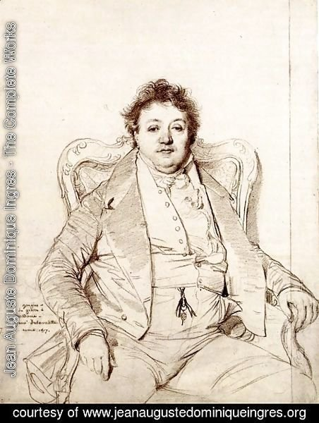 Jean Auguste Dominique Ingres - Charles Thevenin