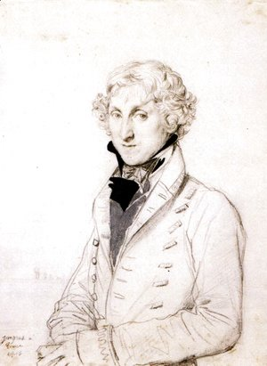 Jean Auguste Dominique Ingres - Charles Thomas Thruston