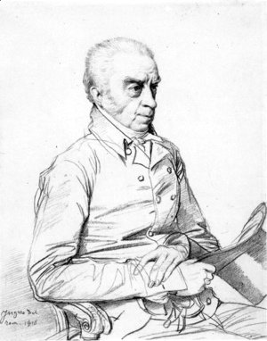 Jean Auguste Dominique Ingres - Dr. Thomas Church