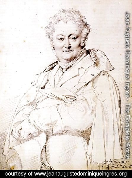 Jean Auguste Dominique Ingres - Guillaume Guillon Lethiere