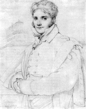 Jean Auguste Dominique Ingres - Merry Joseph Blondel