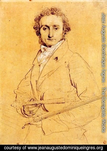 Jean Auguste Dominique Ingres - Niccolo Paganini
