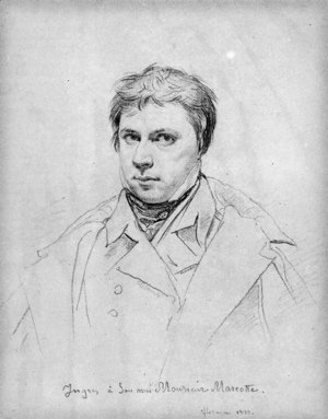 Jean Auguste Dominique Ingres - Self Portrait