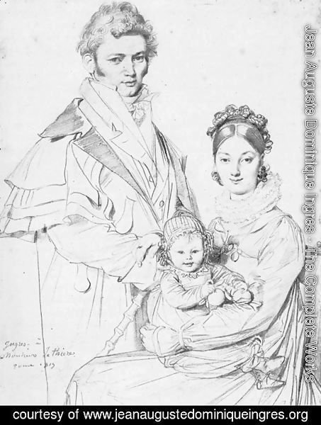 Jean Auguste Dominique Ingres - The Alexandre Lethiere Family