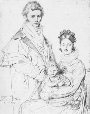 The Alexandre Lethiere Family