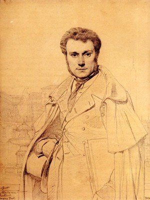 Jean Auguste Dominique Ingres - Victor Baltard