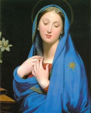 Jean Auguste Dominique Ingres - Virgin of the Adoption