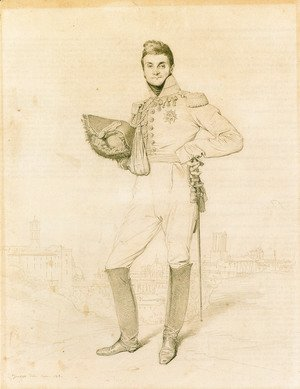 Jean Auguste Dominique Ingres - General Louis-Etienne Dulong de Rosnay