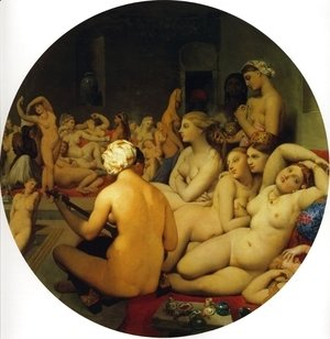 Jean Auguste Dominique Ingres - The Turkish Bath