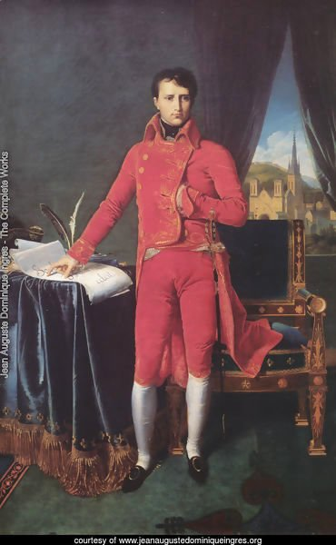 Napoleon Bonaparte in the Uniform of the First Consul
