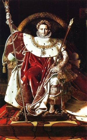Jean Auguste Dominique Ingres - Napoleon as Jupiter Enthroned