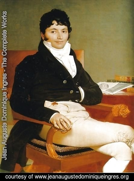 Jean Auguste Dominique Ingres - Philbert Riviere