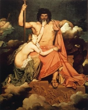 Jean Auguste Dominique Ingres - Jupiter and Thetis