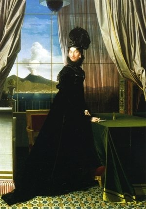 Jean Auguste Dominique Ingres - Carolline Murat, Queen of Naples