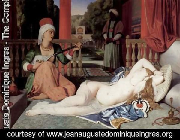 Jean Auguste Dominique Ingres - Odalisque with Female Slave