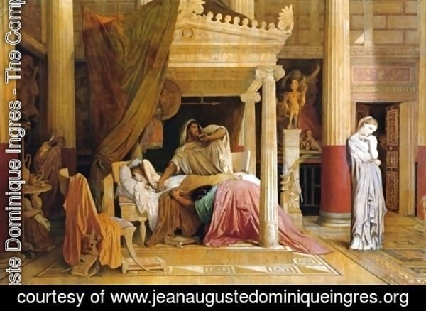 Jean Auguste Dominique Ingres - Antiochus and Stratonice 2