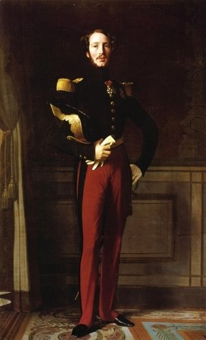 Jean Auguste Dominique Ingres - Duke Ferdinand-Philippe of Orleans