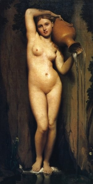 Jean Auguste Dominique Ingres - The Sorce