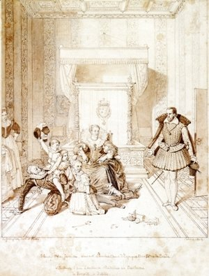 Henry IV Playing with His Children
