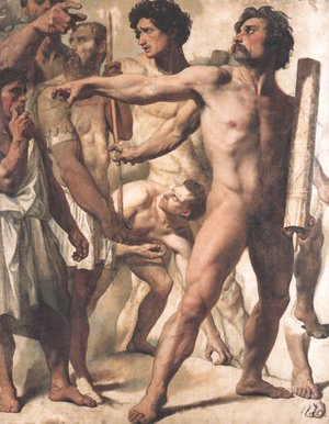 Study for The Martyrdom of St. Symphorien