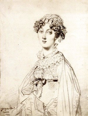 Jean Auguste Dominique Ingres - Lady William Henry Cavendish Bentinck, born Lady Mary Acheson I