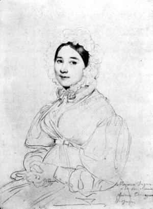 Madame Jean Auguste Dominique Ingres, born Madeleine Chapelle III