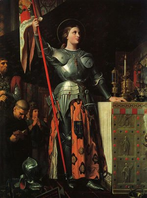 Jean Auguste Dominique Ingres - Joan of Arc