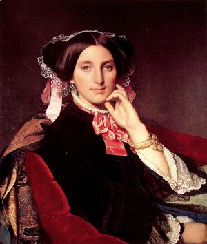 Jean Auguste Dominique Ingres - Madame Henri Gonse