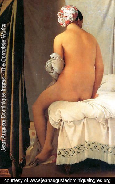 Jean Auguste Dominique Ingres - The Bather of Valpinçon