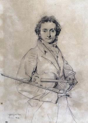 The Violinist Niccolò Paganini
