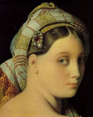 Jean Auguste Dominique Ingres - Grande Odalisque (detail)