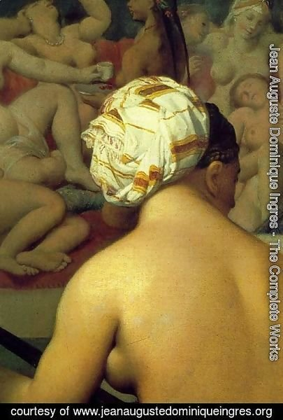 Jean Auguste Dominique Ingres - The Turkish Bath (detail)