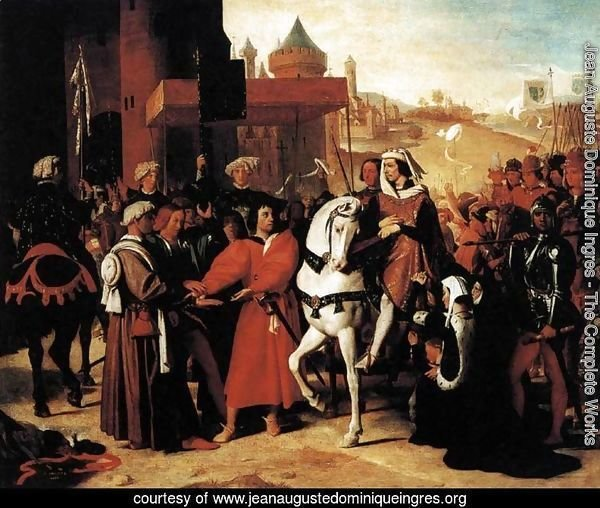 The Entry of the Future Charles V into Paris in 1358 2