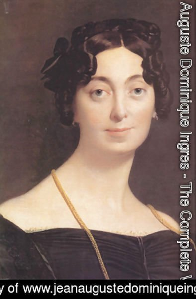 Jean Auguste Dominique Ingres - Madame Leblanc