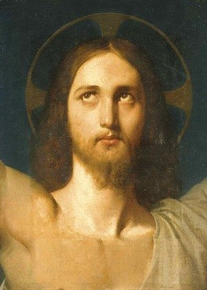 Jean Auguste Dominique Ingres - The Head of Christ