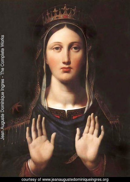 The Virgin With The Crown