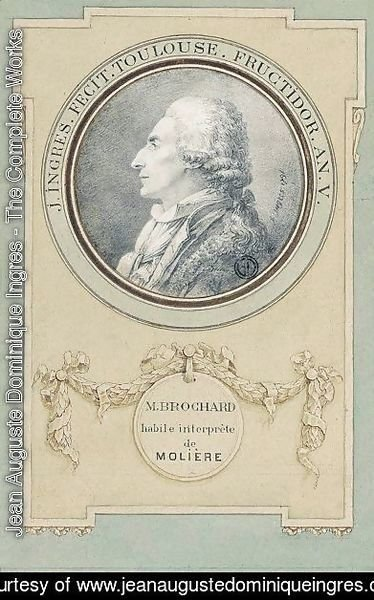 Portrait Of The Actor, Monsieur Brochard