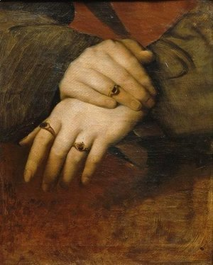 Study of a woman's hands