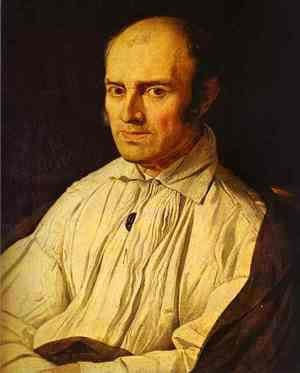 Jean Auguste Dominique Ingres - Portrait of Frederic Desmarais