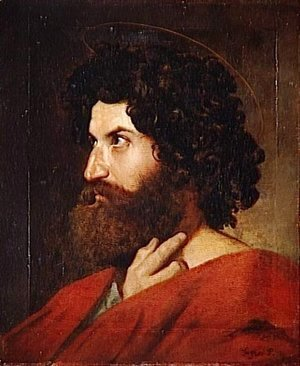 Jean Auguste Dominique Ingres - Head of St. Matthew