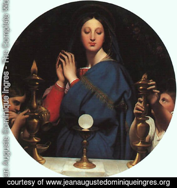 Jean Auguste Dominique Ingres - The Virgin of the Host