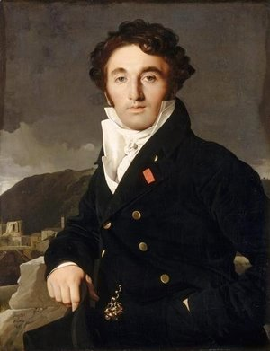 Jean Auguste Dominique Ingres - Portrait of Charles-Joseph-Laurent Cordier