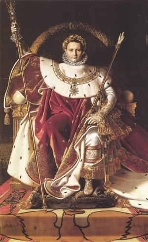Napoleon Enthroned